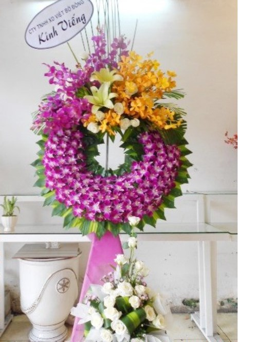 vietnam sympathy flowers